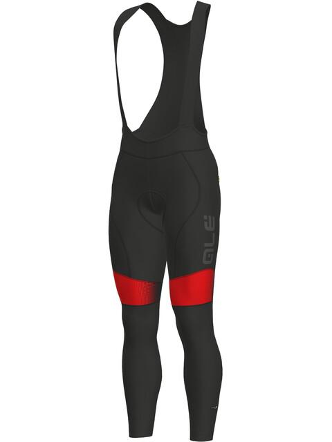 Alé Cycling PRS Dots WR Bibtights Men black-red